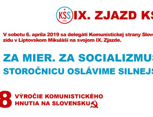 IX. Zjazd KSS